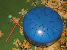 Tank drum steel tongue handpan, F major penta ,22cm , 8 notes ethno folk
