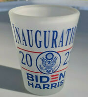Biden Harris Presidential Inauguration Frosted Shotglass January 20, 2021 NEW