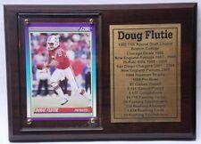 New England Patriots Doug Flutie Football Card Plaque ef36d2305