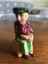 Vintage Lancaster Miniature Character Toby Jug Oliver Twist