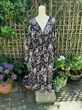 All Saints Nichola Kasuri dress 12/14 large