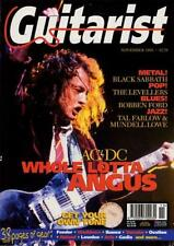 AC/DC Angus Young UK 'Guitarist' Interview Clipping ECLIPSED