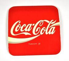 COCA-COLA COKE liège Dessous De Verre Dessous-de-verre coaster USA - LOGO ROUGE