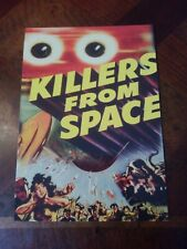KILLERS FROM SPACE W/PETER GRAVES 2010 BREYGENT NO YEAR POSTER OVERSIZE CARD #18