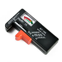 Battery Tester Tool AA AAA C D 9V Button Checker Accessory Universal NEW
