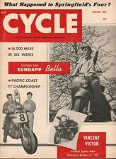 1955 January Cycle - Vintage Motorcycle Magazine