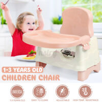 Baby Dining Chair Toddler Infant Folding High Chair Booster Feeding Tabl
