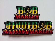 """10 Jamaica Face in BOB Embroidered Patches 4.5""""x2.25"""""""