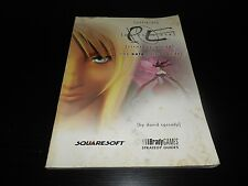Parasite Eve Official Strategy Guide Book Brady Games