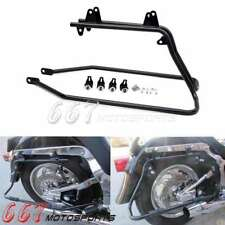 Saddlebag Luggage Support Bracket Mounts For Harley Davidson Softail 1986-2013