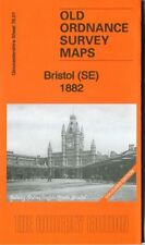 DETAILED ORDNANCE SURVEY MAP BRISTOL (SE) 1882 COLOURED VERSION  FREE UK P&P