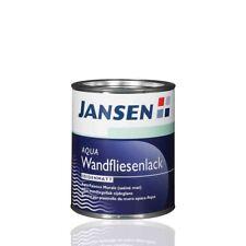 Jansen Wandfliesenlack weiß 0,75l - Fliesenfarbe Fliesenlack