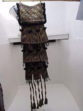 VINTAGE/Antico Islamico ricamato Gancio a Parete/Borsa da sella di cammello cotone