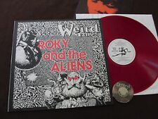 LP Roky and the Aliens weird Tales 80s +Insert RED VINYL | NM-