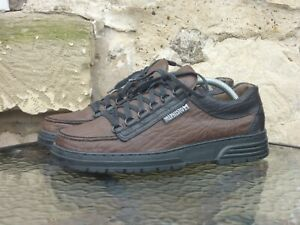 Mephisto Cruiser Comfort Shoes UK8 Brown Leather Casual Oi Polloi Rainbow