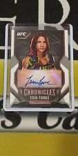 2015 Topps UFC Chronicles TECIA TORRES Autograph