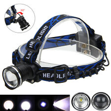 Zoomable 8000LM XM-L T6 LED Head Flashlight Fishlight Headlight Light AA Battery