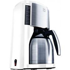 Melitta Look Therm Selektion Weiss-Edelstahl Kaffeemaschine Isolierkanne 900 W