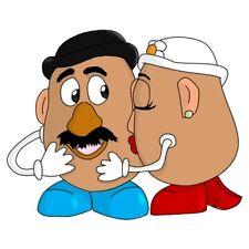 Mr. Potato Head Kiss Para Hombre camiseta TEE S M L Xl 2xl 3xl Nuevo