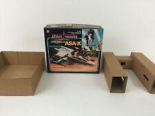 brand new star wars glasslite asa-x  x-wing box + inserts