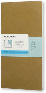 MOLESKINE Chapters Collection 'Dotted Journal' Mini Notebook - Free P&P - NEW