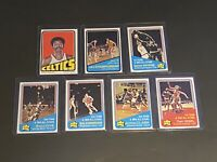 1972-73 Topps Basketball Card Set LOT HOFERS JERRY WEST DAN ISSEL SILAS LOVE +