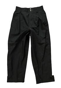 Women's ZERO RESTRICTION Black Gore-Tex Waterproof Rain Golf Pants size Medium