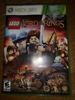 LEGO THE LORD OF THE RINGS (Microsoft Xbox 360, 2012) COMPLETE