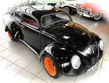 *EXTRAVAGANTES EINZELSTÜCK* VW Käfer TopChop Porsche Sitze im Oldtimer Museum