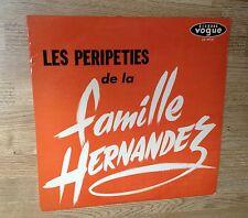 33 tours Spectacle Les péripéties de la famille Hernandez pieds-noirs 1962 VG+