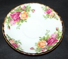 """Royal Albert - Old Country Roses - 4 7/8"""" Saucer - 1st/vgc"""