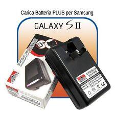 CARICABATTERIE ALIMENTATORE BASE da tavolo per BATTERIE Samsung GALAXY S2  i9100