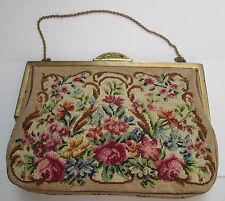 Petit  sac à main pochette de soirée mariage femme  vintage TBEG  bag