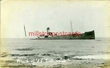 More details for real photo postcard wreck of s.s. enterprise at staithes, north yorkshire 1907