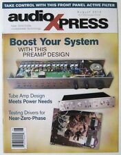 Audio Xpress Magazine - 2010 August - Tube Amp Design Boost Your System