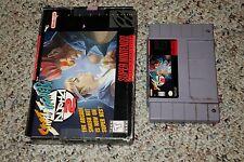 Street Fighter Alpha 2 (Super Nintendo Entertainment System SNES) w/ Box GOOD A