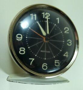 Westclox, Vintage Wind-Up Alarm Clock  Luminous Dial