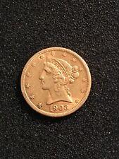 USA 1903 S  $5 Gold