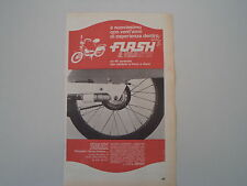 advertising Pubblicità 1970 SOLEX VELOSOLEX FLASH
