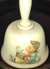 """M J. Hummel Annual Bell bas-Relief 1978 First Edition Hum 700 Let's Sing Mib 6"""""""