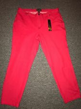 Women's Jeggings Leggings Plus Size 3X Dark Pink Stretchy Angel