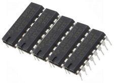 5 x SN74HC595N 8 Bit Shift Register SN74HC595 74595 74HC595 DIP16 Arduino DEL UK