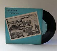Souvenir di Riccione canta Franco Franchi Ho perduto il 45 Giri Vinile Vinyl 7