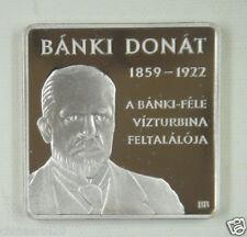 New listing Hungary Coin 1000 Forint 2009 Unc, Donat Banki, 150th Anniversary of Birth