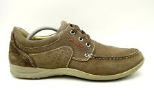 Woodland Brown Leather Casual Comfort Lace Up Shoes Men's 44 / 10