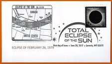 Eclipse of 1979 Oregon to Canada to Greenland Total Solar Eclipse of the Sun FDC