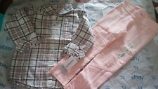 5T  (2pc) Girl's Pink Plaid Top-n- leggins- Carters-Jumping Beans NWT- Free Ship