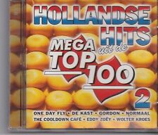 Hollandse Hits-Uit De Mega Top 100 2  cd album