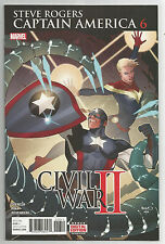 STEVE ROGERS CAPTAIN AMERICA # 6 * CIVIL WAR II * NEAR MINT