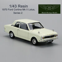 1/43 BHM British Heritage Models 1970 Ford Cortina MKⅡ Lotus Series 2 Resin Car